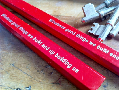 Two Emma Makes builders pencils
