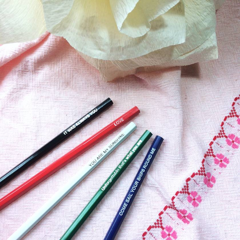 Lover's pencil pack
