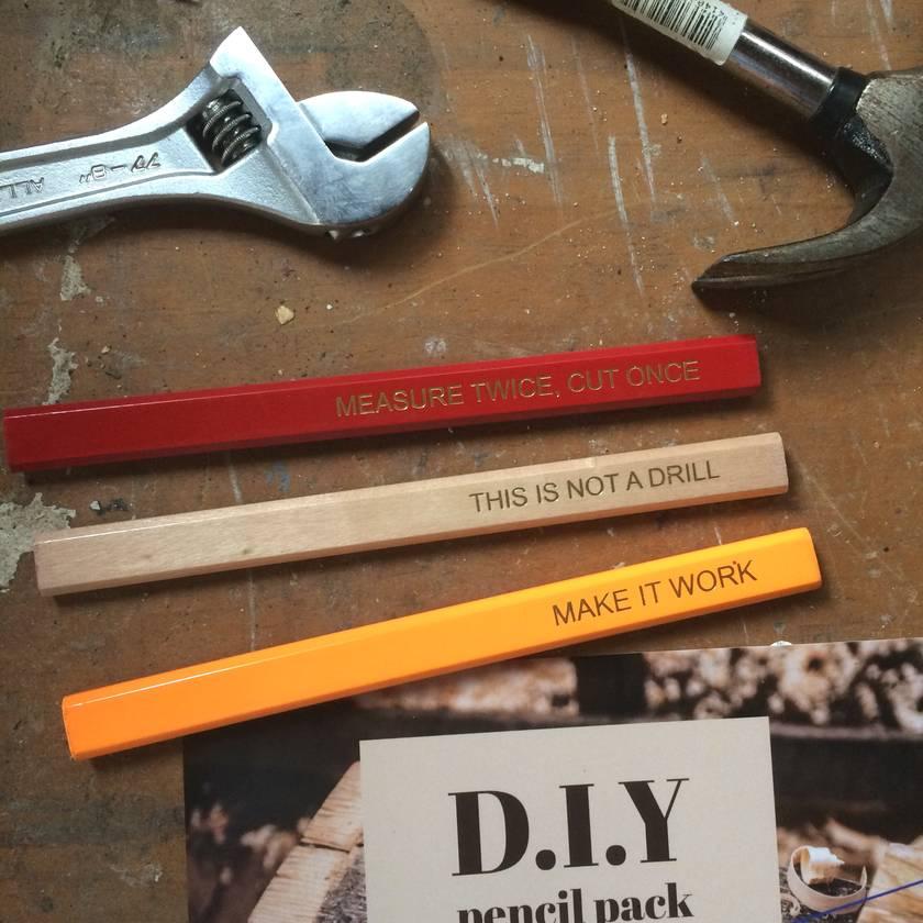 DIY Pencil Pack