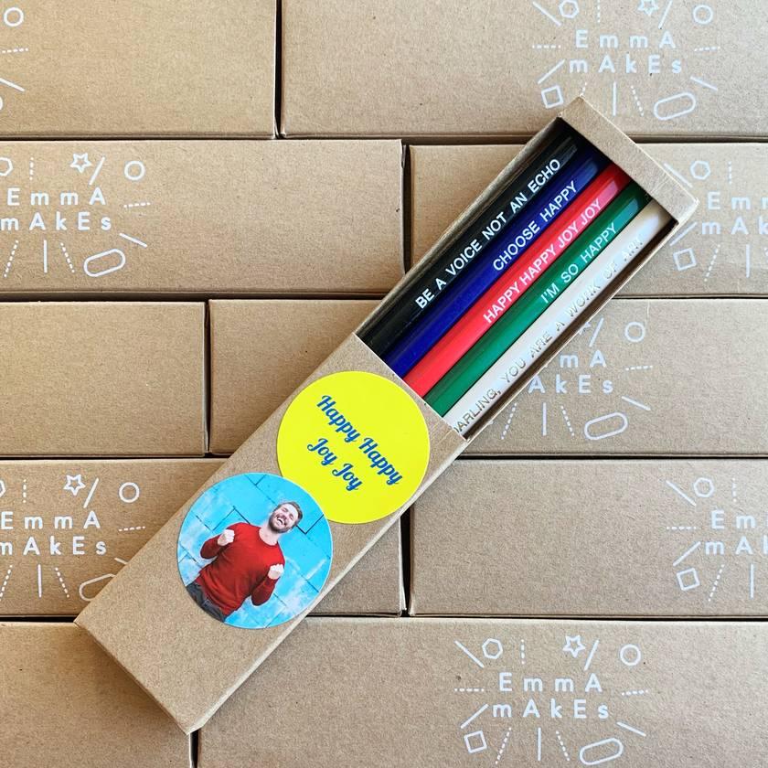 Happy Happy Joy Joy pencil pack