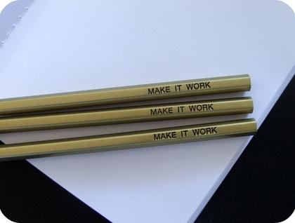 Make it work pencils