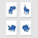 Safari MATISSE greeting cards - Set of 4