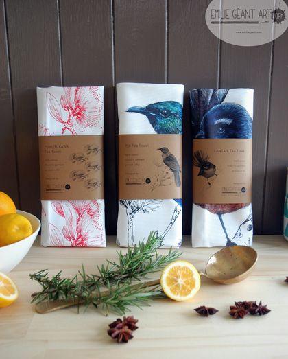 Bulk Tea Towels Nz: Meri Kirihimete