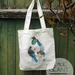 New Zealand native birds Tote bags designed by Emilie Geant Artwork , 100% cotton