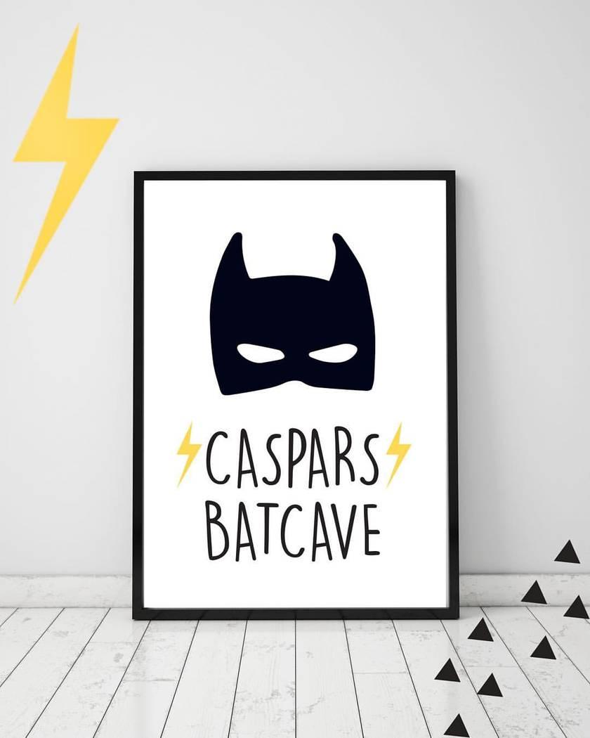 Custom Name Superhero Print