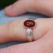 Oval Carnelian Ring
