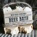 Beer Bath - Lard Based Bar