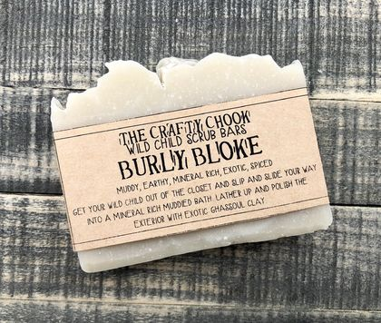 Burly Bloke - 100% Natural Bar