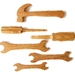 Hammer, Chisel, Screwdriver and Three Spanner set