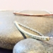 Feather Bar Necklace - Single - Silver, Copper or Brass with Te Reo customisation