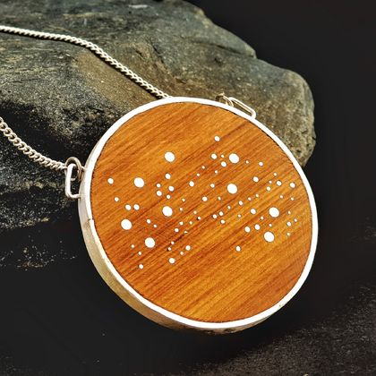 Deluxe Star Map Necklace - Large