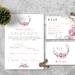Walima Wedding Invitation - Set of 40