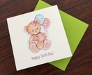 Happy Birthday - Pop-up Square Card