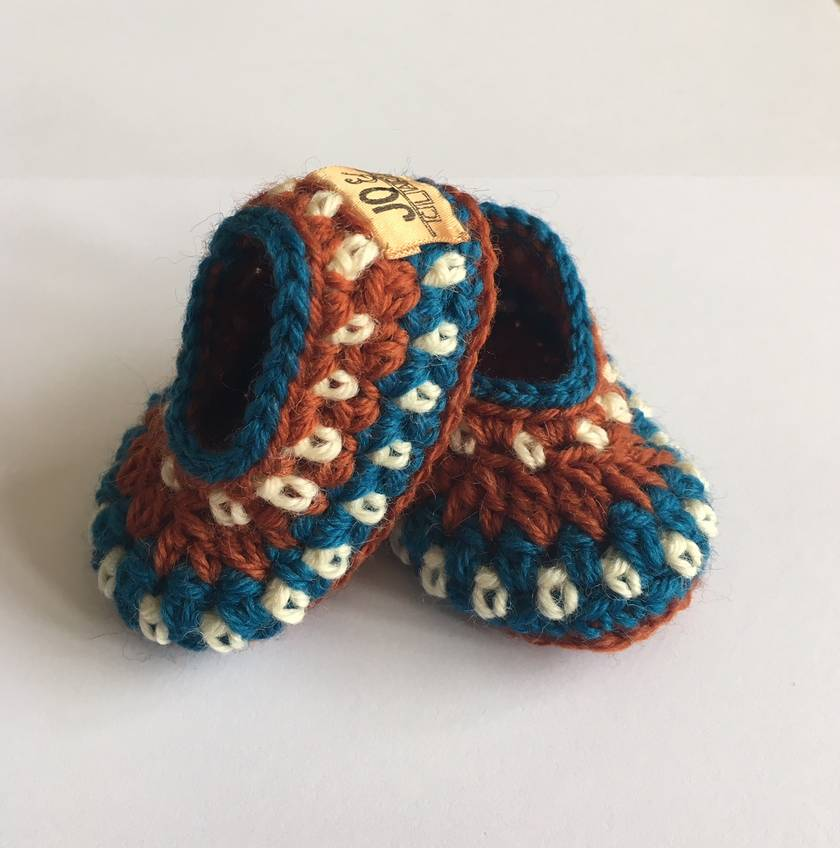 Handmade Pure Wool Booties
