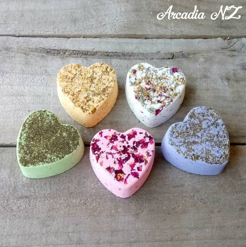 Floral Infused Bath Bombs
