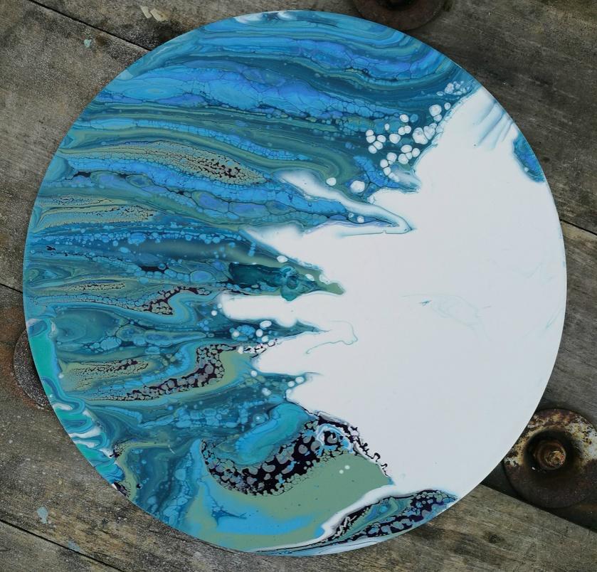 Abstract Fluid Original Art - Usurp