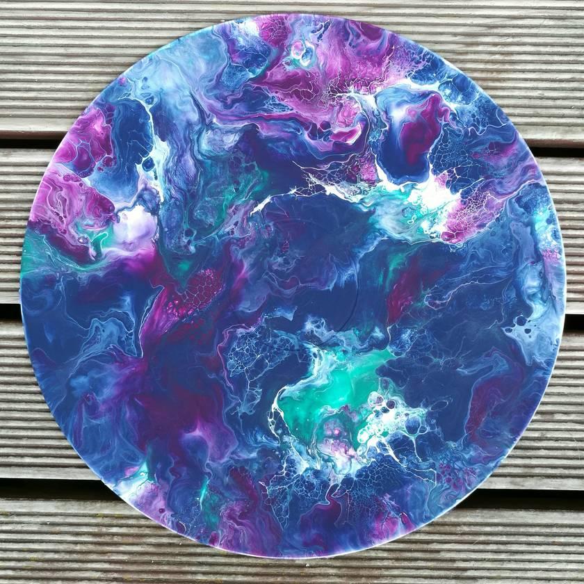 Abstract Fluid Original Art - 80