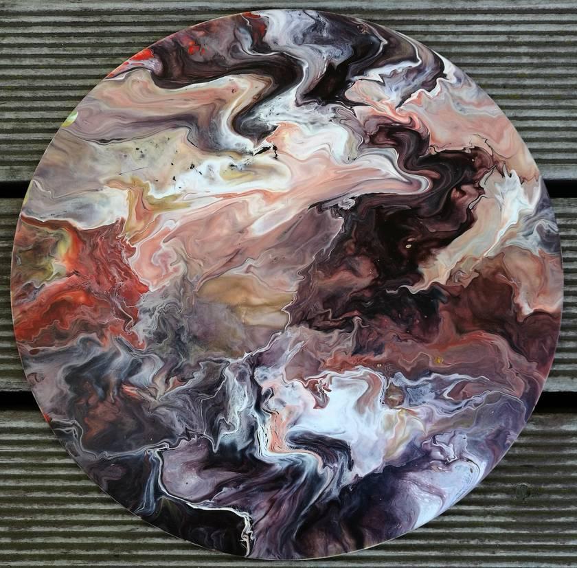 Abstract Fluid Original Art - 84