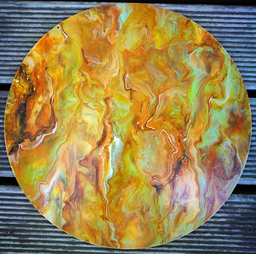Abstract Fluid Original Art - 86