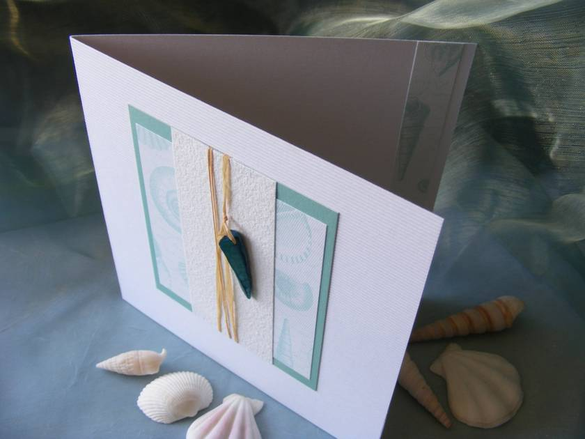 Beach Treasure Card