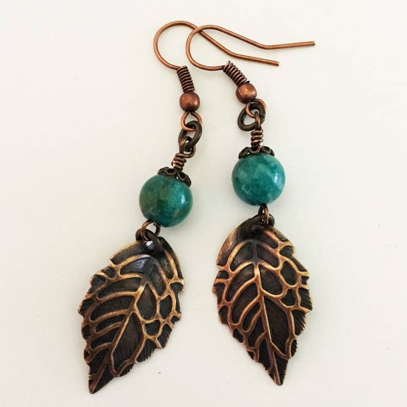 Autumn Gem Earrings