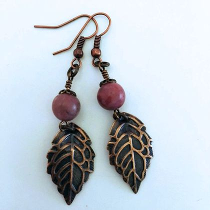 Florence Leaf Earrings
