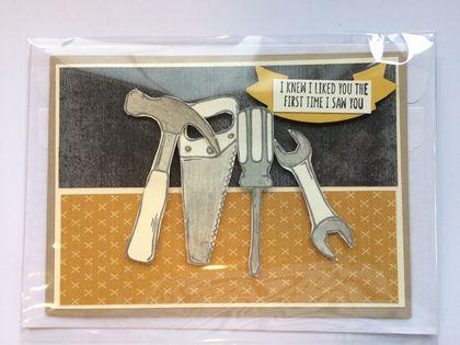 Tool Box Mens Card