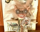 BENNY & WOOG ~ Polymer/Fabric Fantasy Character Art Dolls OOAK Hand Sculpted