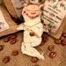 Swaddled Baby Coffee Fairy Boy