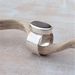 Handmade Silver Beach Stone Ring