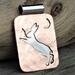 Silver and Copper Hare Pendant