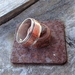 New Silver and Copper Ring