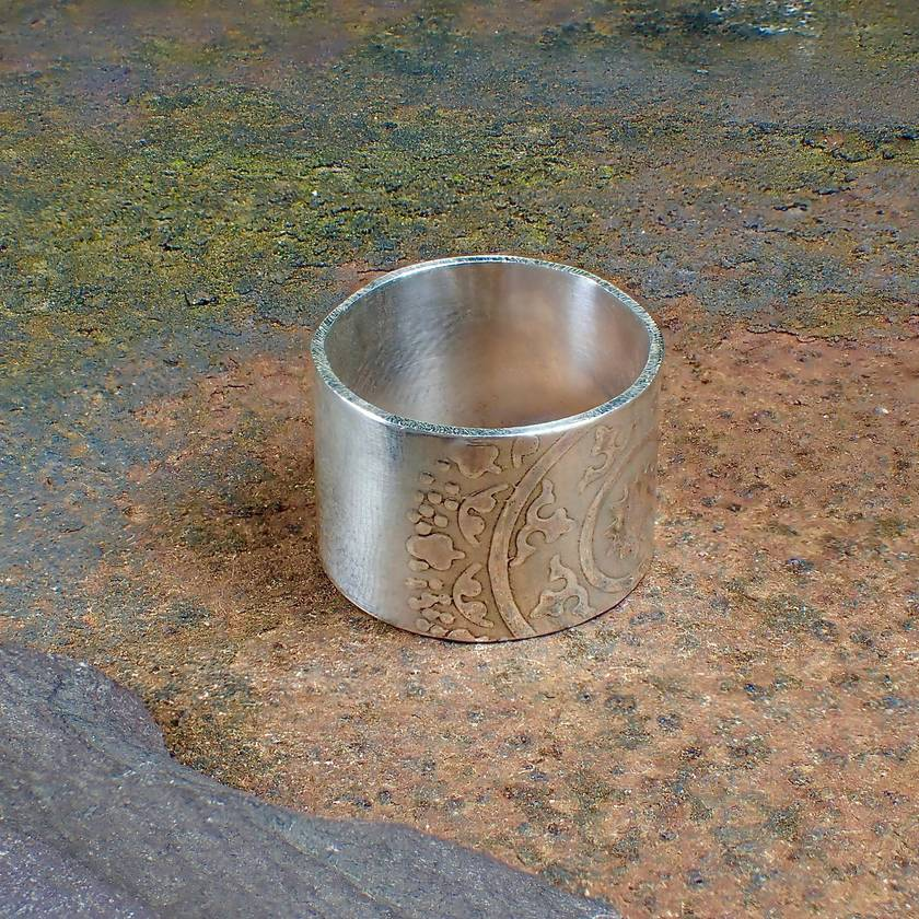 Silver Mandala Ring