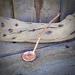 Handmade Ten Cent Copper Spoon