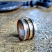 Handmade Rustic Silver Copper & Brass Ring
