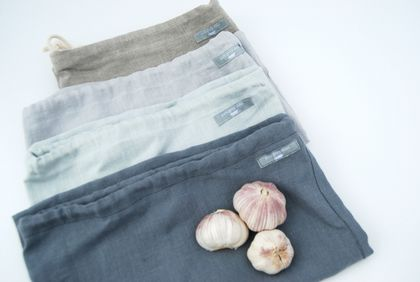 linen bread bag/produce bag/storage bag