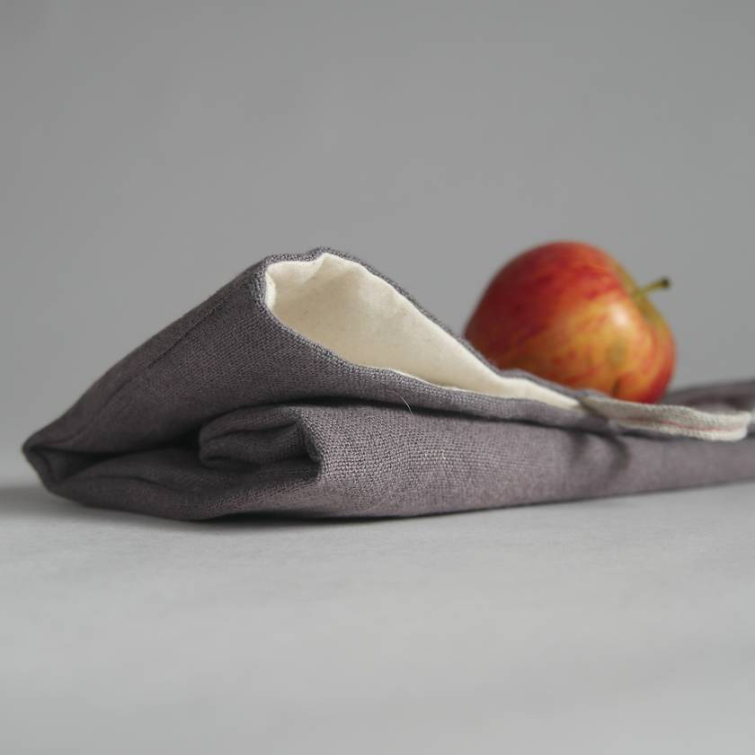 Linen lunch sack