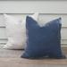 Velvet and linen cushion covers