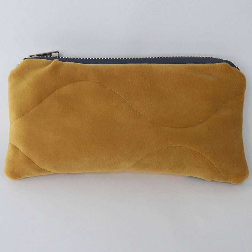 Frida's garden glasses case/zipper purse
