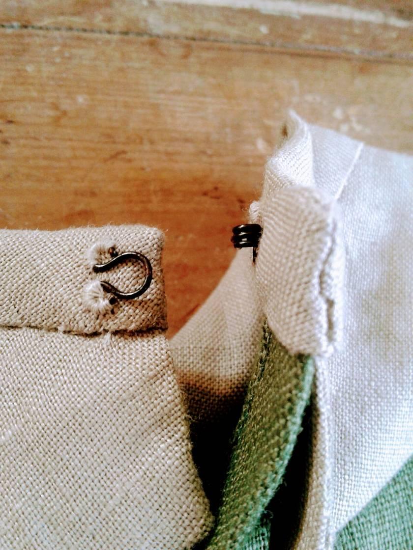 COVE ROMPER in Organic Linen