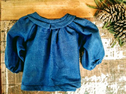 Tunic | Top | Smock | Peter Pan Colar | Linen Top | For Baby and Toddler
