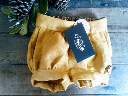 Baby Toddler Shorts IN ORGANIC LINEN