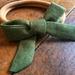 Hand Tied  Bow Headband - Sage