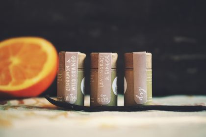 Lip Balm - Wild Orange and Cinnamon