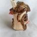 25% off Ceramic Fairy house miniture