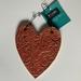 Deep Red Heart Decoration