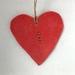 Ceramic Heart 'Aroha'