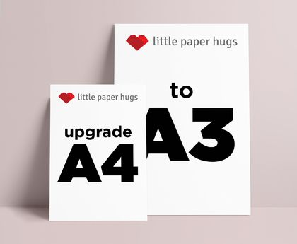 Little Paper Hugs A3 upgrade