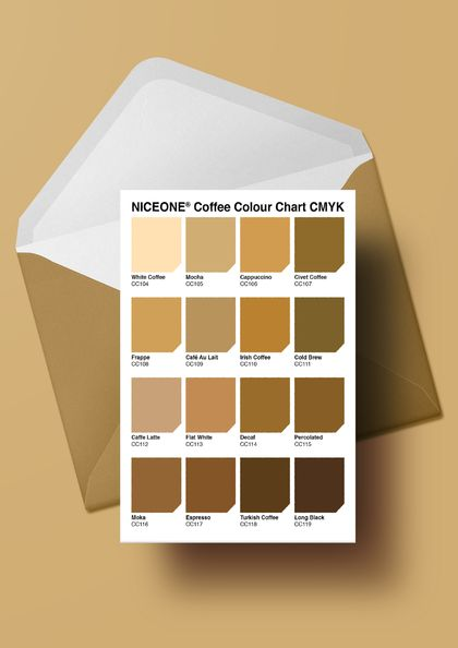PERSONALISED CARD: THE COLOUR OF CAFFEINE