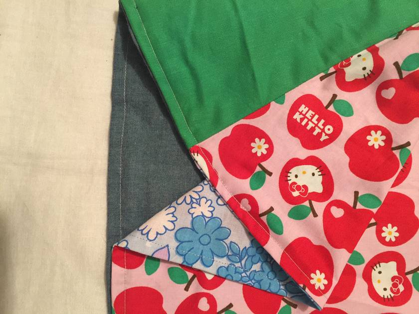 Retro flowers - Hello Kitty Dress - Pinny - Size 12mths - 18mths
